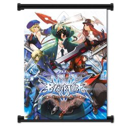 """Blazblue Game Fabric Wall Scroll Poster (16""""X22"""") Inches"""