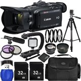 Canon-VIXIA-HF-G40-Full-HD-Camcorder-Bundle-with-Carrying-Case-and-Accessory-Kit-19-Items