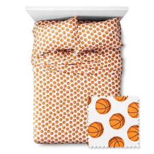 Basketball-Sheet-Set-Pillowfort-Twin