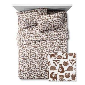 Forest-Friends-Sheet-Set-Pillowfort-Full