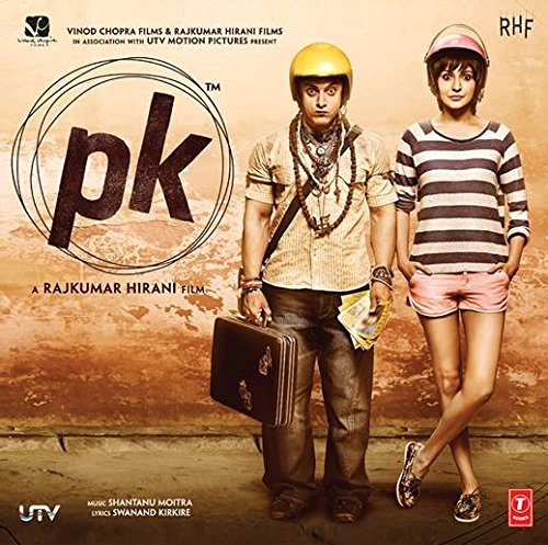 PK - 2014 Bollywood Music Audio CD / Aamir Khan