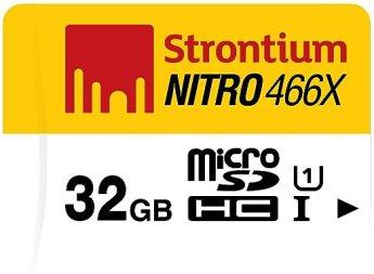 Strontium Nitro 32GB 70MB/s UHS-1 Class 10 microsdhc Memory card