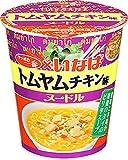サッポロ一番 いなば食品監修 トムヤムチキン味ヌードル 68g×12個