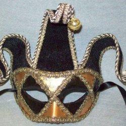 J23797 Venetian Jester Mask Jacobson