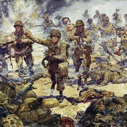 """Strike Attack"" - James Dietz - 3D Battalion, 502 Parachute Infantry Regiment, 101St Air Borne Division World War Ii Military Art (Artists Proof)"