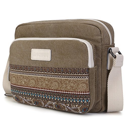 Dachee-coffee-Bohmeian-Canvas-Shoulder-Bag-for-7-Inch-to-10-Inch-Tablet-Pc-Ipad-Mini-Ipad-Air-Pro-Google-Nexus-Kindle-Fire-Samsung-Galaxy-Tab-Mobile-Devices-Messenger-Bag