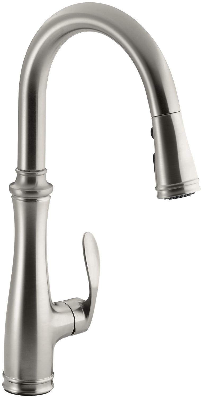 best pull down kitchen faucet delta kitchen faucets kohler k best pull down faucet