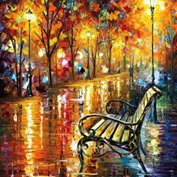 Palette Knife Canvas For Home Decoration,Forgotten Dream Wall Art 30 X 40 In Unframed