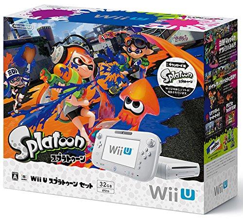 Wii U スプラトゥーン セット 【Amazon.co.jp限定】オリジナル「イカす ステッカー」セット(B6型抜き×4枚) 付