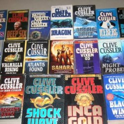 Clive Cussler Complete Dirk Pitt Series Set Of 20