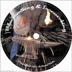 Learn Blacksmithing At Home 129 Books On Cd: For Metal Work, Blacksmith & Homesteading