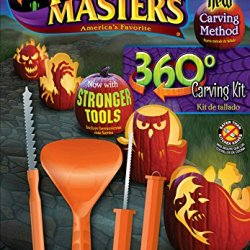 Pumpkin Masters 360 Degree Carving Kit Halloween New Method Stronger Tools