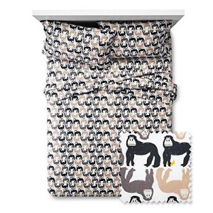 Kids-Gorilla-Gathering-Sheet-Set-Multi
