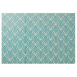 Sheffield Home Protective Decorative Paper Placemats (40 Count Pad)
