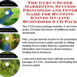 The Guru'S Super Marketing, Success Principles And Inner Game For Hunting Knives On-Line Businesses 3 Cd Pack