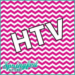 "Chevron Pattern #1 Htv Pink & White Heat Transfer Vinyl 12""X15"" Army Camouflage For Shirts"