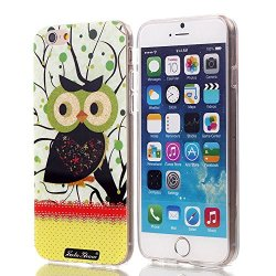 Soloshow® Iphone 6 Plus Case _1Beautiful Fashion Slim Durable And Transparent Tpu Case + High Quality Polycarbonate With High-Definition Pattern _1For Apple Iphone 6 Plus Pro 5_25 Inch Release On 2014 Case (Cute Cartoon Owl Pattern 2)