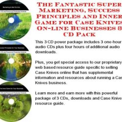 The Fantastic Super Marketing, Success Principles And Inner Game For Case Knives On-Line Businesses 3 Cd Pack