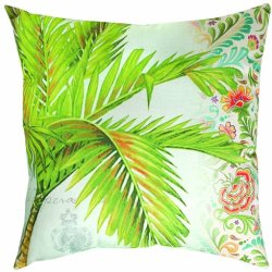 Manual Climaweave Indoor/Outdoor Throw Pillow, Easy Breezy, 20 X 20-Inch