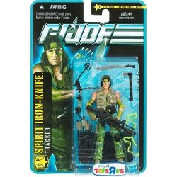 G.I. Joe Pursuit Of Cobra Exclusive 3 3/4 Inch Action Figure Spirit Ironknife