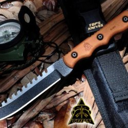 Tops Ranger Bootlegger 2 Tactical Fighting Boot Knife Rbl-02