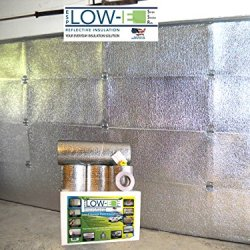 Esp Low-E® Ssr One Car Garage Door(9'X7') Insulation Kit (Foil Interior Finish):Includes Esp Low-E® Reflective Foam Core Insulation (70 Sq Ft), Razor Knife, Squeegee, Double Adhesive Tape. 25 Years Products And Service From The Creators Of Low-E
