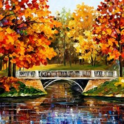 Fine Art Painting Superb Quality And Craftsmanship On Canvas Palette Knife Fall Blinks 40 X 30 In Unframed