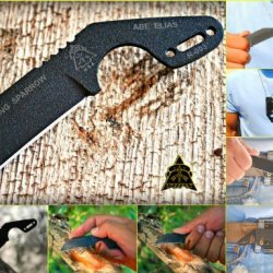 Tops Diving Sparrow Backup Survival Knife Disp-01