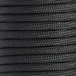 Okeler 100Ft Black 9 Core Desert 550 Paracord Parachute Cord Strand Nylon Survival Outdoor With Free Pen