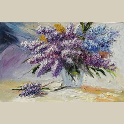 Modern Art Canvas Stay With Me Palette Knife Art Wall Art Artwork For Home Decor 12X18 In/30X45Cm Unframed