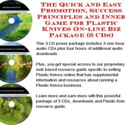 The Quick And Easy Promotion, Success Principles And Inner Game For Plastic Knives On-Line Biz Package (3 Cds)