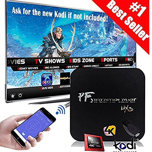 MX3 Advance Android TV Box Quad Core/S812/2G/16G/4K Streaming Media Player & Game Play Station Preload KODI (XBMC)16.1