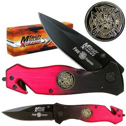 8-Inch Folding Pocket Knife Easy To Handle Durable With Liner Lock Design