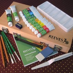 Reeves Acrylic Color Artist Box