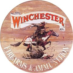 Tin Sign Winchester