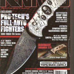 Tactical Knives Magazine (The Cutting Edge Of Survival, May 2012)