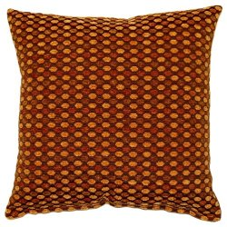 Dakotah Dotty Bronze Knife Edge Pillow, 17-Inch