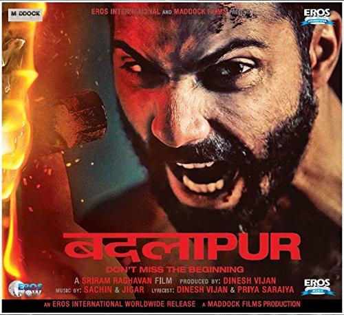 Badlapur Hindi Audio CD(Bollywood/Film/Songs)