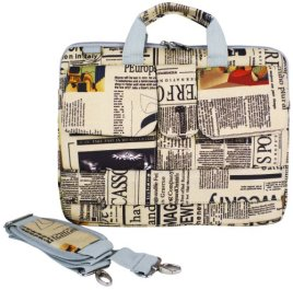 14-inch-Newspaper-Pattern-Laptop-Carry-Case-Shoulder-Messenger-Bag-Briefcase-for-Macbook-Acer-Dell-HP-Sony-Notebook