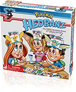"""Play Pokemon hedbanz, the quick question game of """"what am I?"""" ask """"Yes"""" or """"no"""" questions to figure out if the cartoon on your head is an animal, food or man-made object. Be the first player to guess what you are and win! hedbanz - the game w..."""