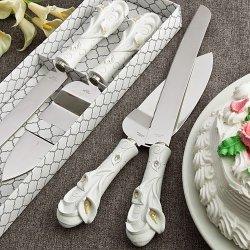 10 Calla Lily Design Cake Set