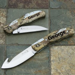 Elk Ridge Combo Knives Set With Sheath