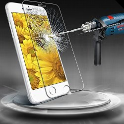 """Iphone 6 Plus Screen Protector, [Tempered Glass Protection] Aerb Iphone 6 Plus 5.5"""" Premium Ballistic Nano 0.3Mm Tempered Glass Screen Protector Scratch Free Ultra Slim Guard For Apple Iphone 6 Plus 5.5 Inch Release On 2014"""