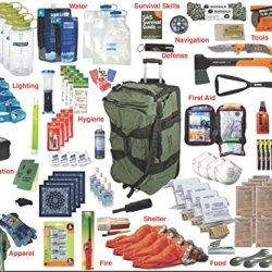 4-Person Premium Emergency Kit Bag / Bug Out Bag / Survival Kit / Earthquake Kit