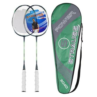 Strauss Nano Spark Badminton Racquet 2 Pieces with cover