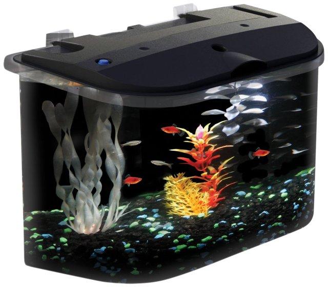 Aquarius AQ15005 Aquarius 5 Rounded 5 Gallon Aquarium Kit Shatter