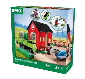 BRIO Countryside Horse Set