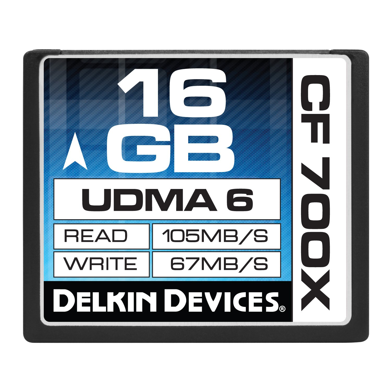 Delkin 16GB Compact Flash 700x UDMA 6