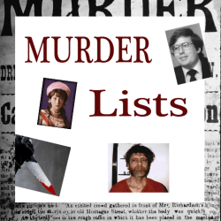 Crime And Murder Lists