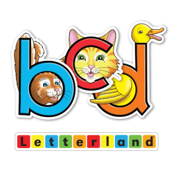 Letterland Stories: Bouncy Ben, Clever Cat & Dippy Duck